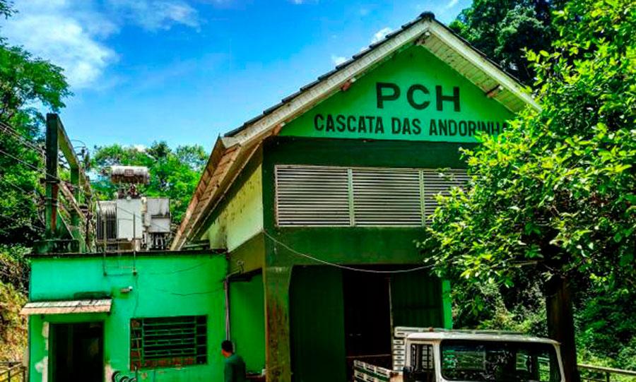 小型水力发电厂Cascata das Andorinhas