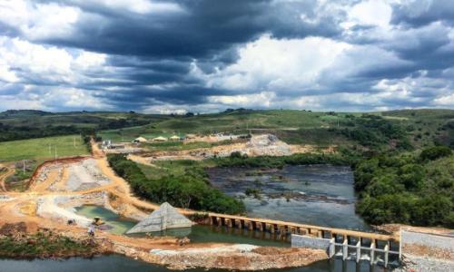 小型水力发电厂Morro Grande