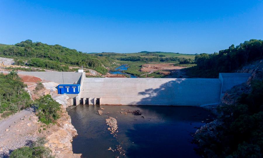 小型水力发电站Quebra Dentes