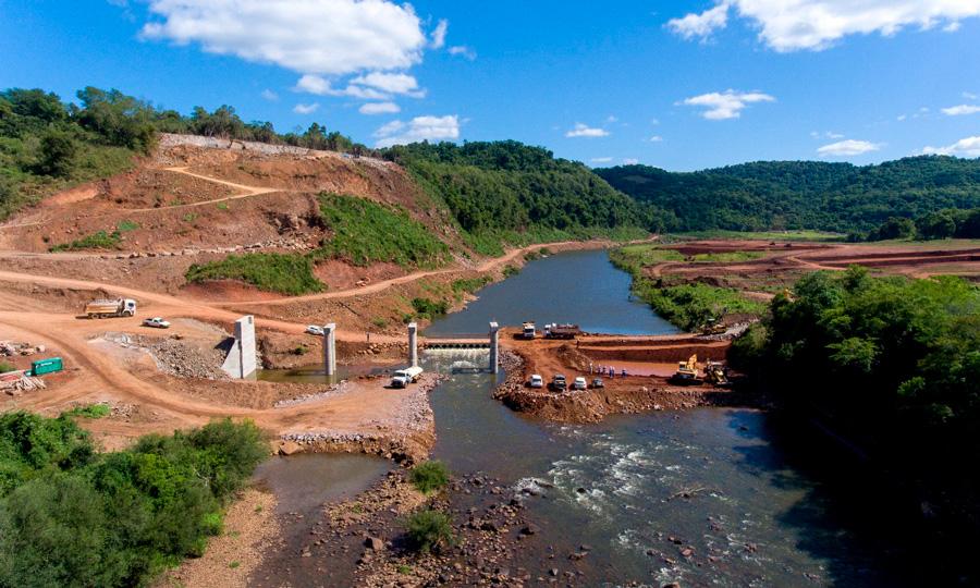 小型水力发电厂Rincão São Miguel