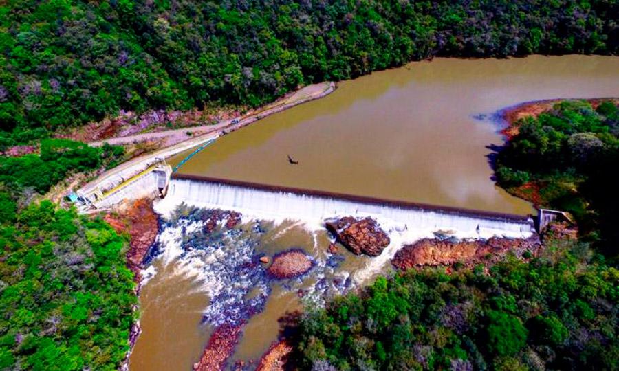 小型水力发电厂Santa Carolina