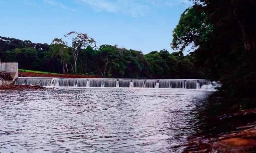 小型水力发电厂SantoAntônio